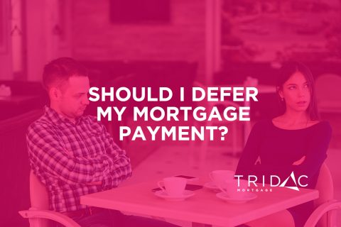 defer mortgage payment