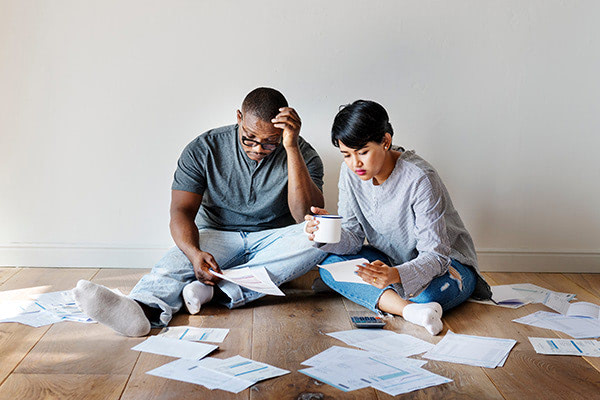 refinance debt couple