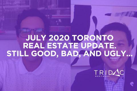 july 2020 GTA real estate