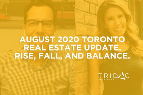 August 2020 GTA real estate