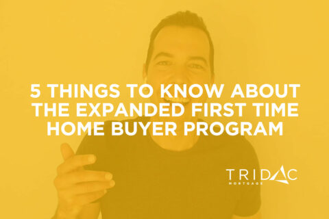expanded first time home buyer program