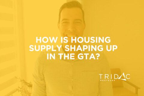 housing supply gta